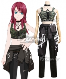 BanG Dream! Udagawa Tomoe Cosplay Costume