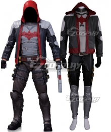 Batman: Arkham City Red Hood Cosplay Costume