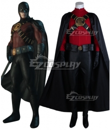 Batman: Arkham City Red Robin Suit Cosplay Costume