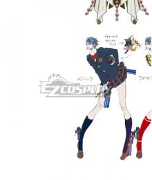 Bayonetta 2 Bayonetta School Cosplay Costume