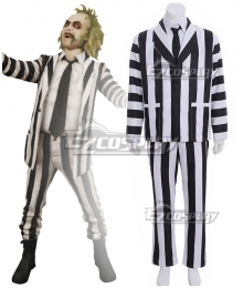 Beetlejuice Betelgeuse Halloween Cosplay Costume