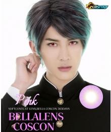 Bella Eye Coscon Clear Lens Qrow Branwen Accelerator Pink Cosplay Contact Lense