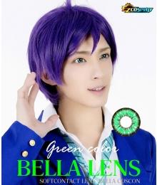 Bella Eye Coscon Jade 2tone Izuku Midoriya Deku Monica Green Cosplay Contact Lense