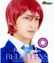 Bella Eye Coscon Jade 2tone Kyoka Jiro Narancia Ghirga Purple Cosplay Contact Lense