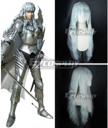 Berserk Griffith White Cosplay Wig