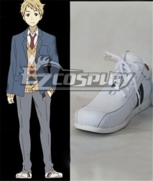 Beyond the Boundary Kyokai no Kanata Akihito Kanbara Cosplay Shoes