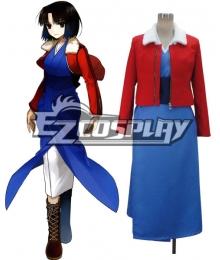 The Garden of Sinners Kara no Kyoukai Shiki Ryougi Cosplay Costume