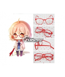 Beyond the Boundary  Kyokai no Kanata Kuriyama Mirai Cosplay Glasses