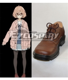 Beyond the Boundary Kyokai no Kanata Kuriyama Mirai Cosplay Shoes