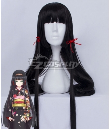 Bishoujo Mangekyou Renge Black Cosplay Wig