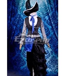 Black Bulter Ciel Dark Circus Uniform Cosplay Costume