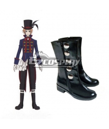 Black Bulter Drossel Kainz Cosplay Shoes
