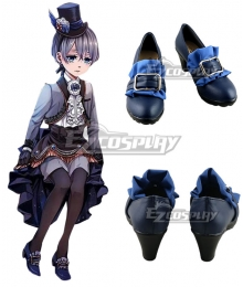 Black Butler Ciel Phantomhive Twins Black Cosplay Shoes