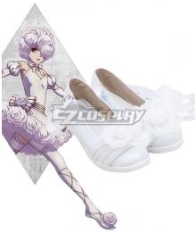 Black Butler Kuroshitsuji Book of Circus Doll White Cosplay Shoes