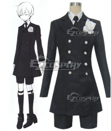 Black Butler Kuroshitsuji Ciel Phantomhive Funeral Cosplay Costume