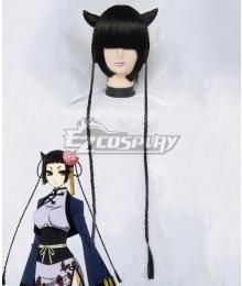 Black Butler Kuroshitsuji Ranmao Black Cosplay Wig