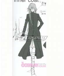 Black Butler Kuroshitsuji Undertaker Grim Reaper Robe Copslay Costume