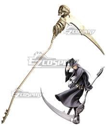 Black Butler Kuroshitsuji Undertaker Sickle Cosplay Weapon Prop