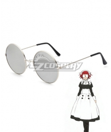 Black Butler Meirin Mey-Rin Maylene Glasses Cosplay Accessory Prop