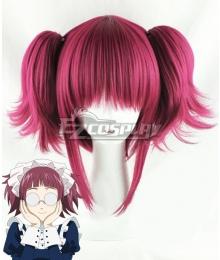 Black Butler Meirin Mey-Rin Maylene Red Cosplay Wig