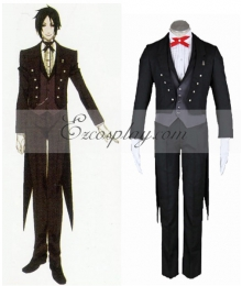 Black Butler Sebastian Michaelis Party Cosplay Costume