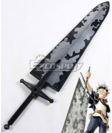 Black Clover Asta Magic Cleaving Sword Cosplay Weapon Prop