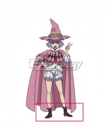 Black Clover Dorothy Unsworth Black Cosplay Shoes