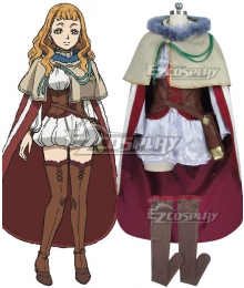 Black Clover Mimosa Vermilion Cosplay Costume