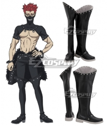 Black Clover Zora Ideale Black Shoes Cosplay Boots