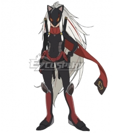 Black Fox The Girl in the Fox Mask Cosplay Costume