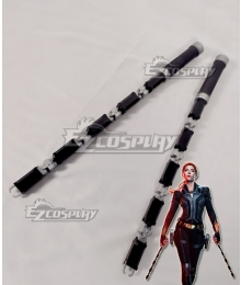 Marvel 2020 Movie Black Widow Natasha Romanoff Cosplay Weapon Prop