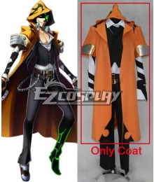 Blazblue Chrono Phantasma Terumi Yuki Cosplay Costume - Only coat