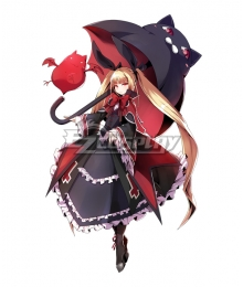 BlazBlue Alter Memory Rachel Alucard Lolita Dress Cosplay Costume