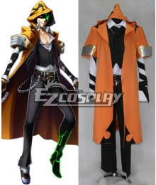 Blazblue Chrono Phantasma Terumi Yuki Cosplay Costume