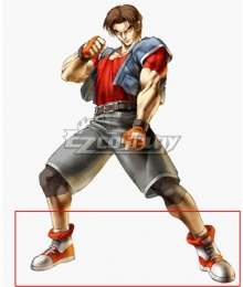 Bloody Roar Yugo Ogami White Cosplay Shoes