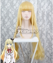 Boarding School Juliet Kishuku Gakkou No Juliet Juilet Persia Golden Cosplay Wig