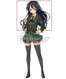 Boku wa Tomodachi ga Sukunai Yozora Mikazuki Black Cosplay Wig