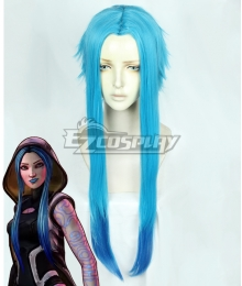 Borderlands 3 Maya Blue Cosplay Wig