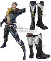 Borderlands 3 Zane Grey Shoes Cosplay Boots