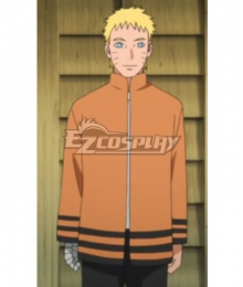 Boruto: Naruto Next Generations Uzumaki Naruto Cosplay Costume - Only Jacket