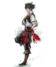 Bravely Default 2 Sailor Seth Cosplay Costume