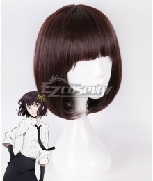 Bungou Stray Dogs Akiko Yosano Brown Black Cosplay Wig
