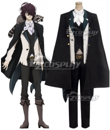 Bungou Stray Dogs Edgar Allan Poe Cosplay Costume