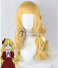 Bungou Stray Dogs Elise Golden Cosplay Wig
