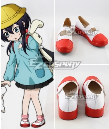 Bungou Stray Dogs KyokaIzumi Red Cosplay Shoes