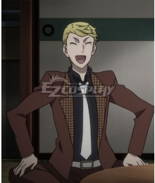 Bungou Stray Dogs Season 3 Francis Scott Key Fitzgerald Cosplay Costume
