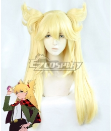 Burn the Witch Ninny Spangcole Golden Cosplay Wig