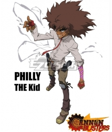 Cannon Busters Philly the Kid Cosplay Costume