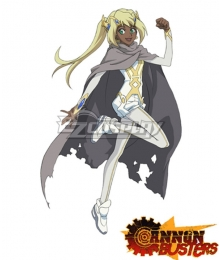 Cannon Busters SAM S.A.M. Cosplay Costume