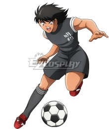 Captain Tsubasa Kojiro Hyuga Meiwa FC Cosplay Costume
